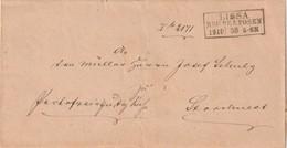 Preussen / 1868 / Briefhuelle R3 LISSA (5556) - Prusse