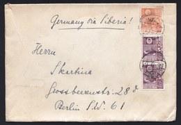 1937 JAPAN COVER * GERMANY VIA SIBERIA * TOKIO > BERLIN - 1937 --- Yvert 202 & 204 ( In Pair ) - 1926-89 Empereur Hirohito (Ere Showa)