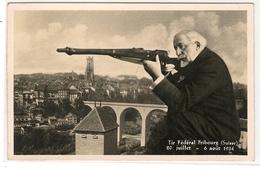 SUISSE - SVIZZERA - FRIBOURG - 1934 - TIR FEDERAL - FR Fribourg