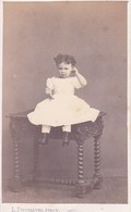 TOURNAI Fenfant Début Années 1860 Par  L. DUCHATEL Photo CDV - Anciennes (Av. 1900)
