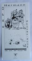 Ex Libris MARQUE PAGE A.L.I.EN SOLLIES EXPO HERMANN 1998 JEREMIAH XL Numéroté - Illustrateurs G - I