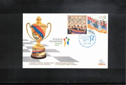 Armenia 2008 Chess Olympiade Dresden Interesting Cover - Schach