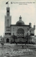 Exposition Universelle De Bruxelles 1910 Pavillon De Monaco Circulée En 1910 - Universal Exhibitions