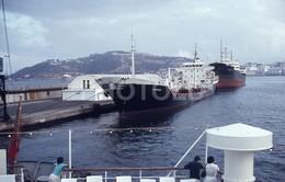 1980 MARMARA SHIP TANKER PUERTO CEUTA AFRICA ESPANA SPAIN 35mm AMATEUR DIAPOSITIVE SLIDE Not PHOTO No FOTO B4957 - Diapositives
