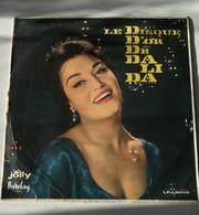 Dalida - LE DISQUE D'OR DE DALIDA-very Rare - LP Album, Size 25 Cm - 1958/1958 Including Two Rare Dalida Postcards From - Música Del Mundo