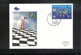 Bosnia And Herzegowina 1999 Bugojno Chess Tournament Interesting Cover - Schach