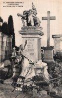 CPA   44   VARADES---LE MONUMENT AUX MORTS POUR LA PATRIE. - Varades