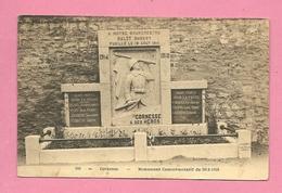 C.P. Cornesse = Monument  1914-1918 - Pepinster