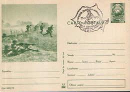 Romania - Postal Stationery Postcard Military 1974 Code - 03 - Postal Stationery