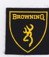 Ecusson Tissus Browning 7 X 7 Cm - Patches