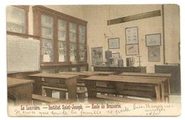 LA LOUVIERE - Institut Saint-Joseph - Ecole De Brasserie. Couleurs.1909. - Ecoles
