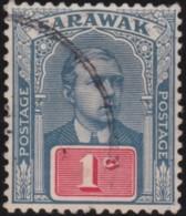 Sarawak     .    SG       .    8        .    O      .     Cancelled       .   /   .   Gebruikt - Sarawak (...-1963)