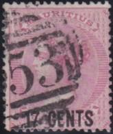 Mauritius    .    SG   .   87    .      O    .   Cancelled    .   /   .   Gebruikt - Mauricio (...-1967)