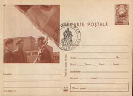Romania - Postal Stationery Postcard Military 1974 Code - 08 - Postal Stationery