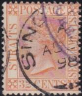 Straits Settlements   .    SG   .   70     .    O      .   Cancelled    .   /   .  Gebruikt - Straits Settlements