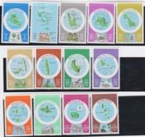 Vanuatu       .    13 Stamps      .     **   .   MNH   .   /   .   Postfris - Vanuatu (1980-...)