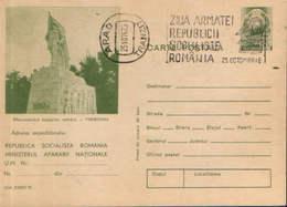 Romania - Postal Stationery Postcard Military 1975 Code - 388 - Postal Stationery