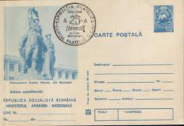 Romania - Postal Stationery Postcard Military - Postal Stationery