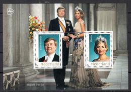 Nederland 2020, Nvph ?? , Mi Nr ??,  Goud Kader, Koning Willem Alexander En Koningin Maxima - Neufs