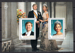 Nederland 2020, Nvph ?? , Mi Nr ??,  Goud Kader, Koning Willem Alexander En Koningin Maxima - Periodo 2013-... (Willem-Alexander)