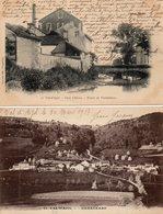 88 -LE VAL-d'AJOL -- Lot De Deux Cartes - (Pont Chérau)  §  (Hamanxard,édit:Cliché A. Bolmont) - Autres Communes