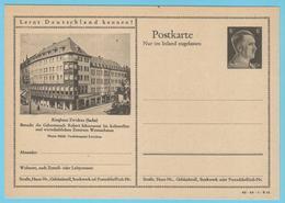 """J.M. 33 - """"Lernt Deutschland Kennen - N° 16 - Série 42-34-1-B15 - Zwickau Geburt. R. Schuman - Komponisten - Compositeur - Allemagne"""