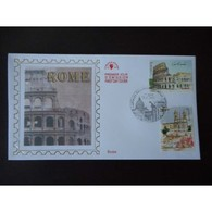 FDC - Capitales Européennes. Rome - 7/11/2002 Paris - 2000-2009