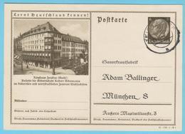 """J.M. 33 - """"Lernt Deutschland Kennen - N° 19 - Série 41-172-1-B1 - Zwickau Ringhaus Geburtsstadt R. Schuman - Compositeur - Allemagne"""