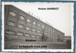 Photo Armée De L'air France Avions Hanriot La Rochelle 1940 WWII - 1939-45