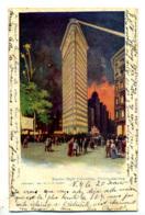 New-York - Election Night Flatiron Building - New York City