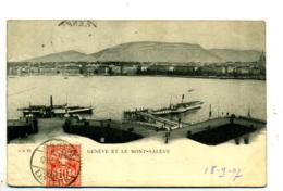 Genève Et Le Mont-Salève - GE Genève