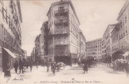11  BASTIA  CORSE D 20  2B   BOULEVARD DU PALAIS ET RUE DE L  OPERA - Bastia