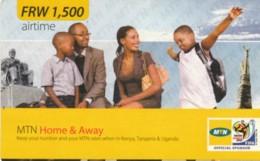 PREPAID PHONE CARD RWANDA (PY72 - Rwanda