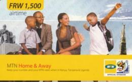 PREPAID PHONE CARD RWANDA (PY73 - Rwanda