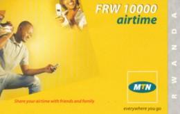 PREPAID PHONE CARD RWANDA (PY80 - Rwanda