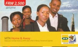 PREPAID PHONE CARD RWANDA (PY94 - Rwanda