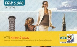 PREPAID PHONE CARD RWANDA (PY96 - Rwanda