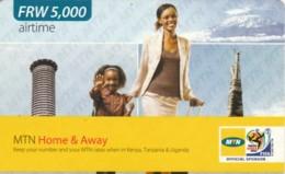 PREPAID PHONE CARD RWANDA (PY97 - Rwanda