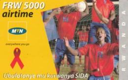 PREPAID PHONE CARD RWANDA (PY99 - Rwanda