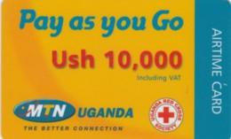 PREPAID PHONE CARD UGANDA (PY104 - Ouganda