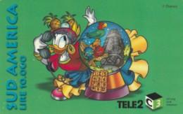 PREPAID PHONE CARD ITALIA-TELE2 (PY164 - Italy
