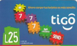 PREPAID PHONE CARD HONDURAS (PY189 - Honduras