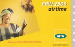 PREPAID PHONE CARD RWANDA (PY196 - Rwanda