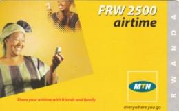 PREPAID PHONE CARD RWANDA (PY197 - Rwanda