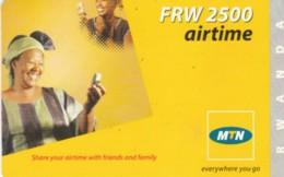 PREPAID PHONE CARD RWANDA (PY198 - Rwanda