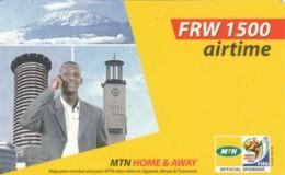 PREPAID PHONE CARD RWANDA (PY203 - Rwanda