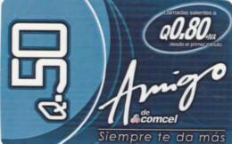 PREPAID PHONE CARD GUATEMALA (PY210 - Guatemala