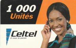 PREPAID PHONE CARD KENIA (PY214 - Kenya