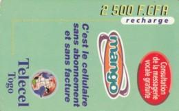 PREPAID PHONE CARD TOGO (PY220 - Togo