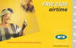 PREPAID PHONE CARD RWANDA (PY223 - Rwanda